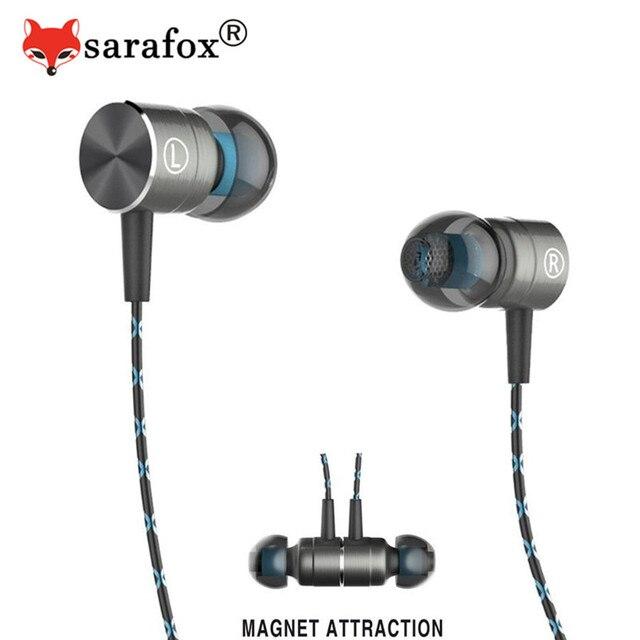 Sarafox Magnetische Oortelefoon Hifi Koorts Ear Oortelefoon