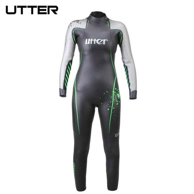 UTTER Transformer Teenager SCS Triathlon Suit Neoprene Long Sleeve Wetsuit Surf Swimsuit for Kids Swimming Running Swimwear