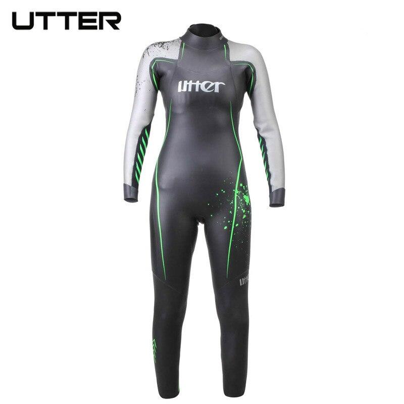 UTTER transformateur adolescent SCS Triathlon costume néoprène à manches longues combinaison Surf maillot de bain pour enfants natation course maillots de bain
