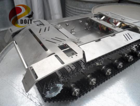 Metal Tank Chassis/All Metal Structure Big Size Load Large/Obstacle-surmounting for Robot Project The Engineering Prototype lonely robot lonely robot the big dream 2 lp cd
