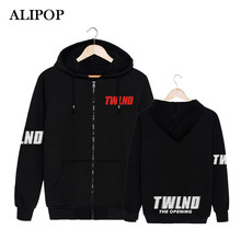 ALIPOP Kpop Korean Fashion TWICE Twiceland Album Concert THE STORY BEGINS Cotton Zipper Hoodies Clothes Zip-up Sweatshirts PT396(China)