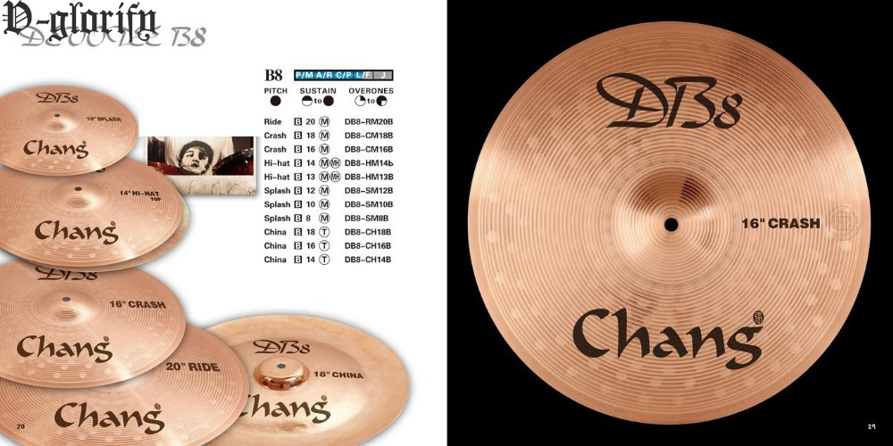 8inch B8 splash meadium cymbal 8%tin 92% copper