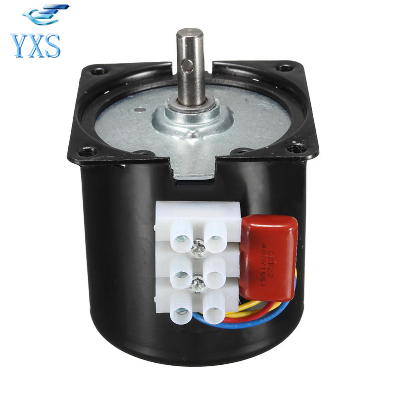 60KTYZ 14W AC220V 50HZ 60HZ AC Synchronous Motor CW/CCW 1.2RPM 2.5RPM 5RPM 8RPM 10RPM 15RPM 20RPM 30RPM 50RPM 60RPM 80RPM 110RPM 60ktyz 15rpm 14w 220 240v 50hz 60hz ac synchronous motor cw ccw projector screen motor pure copper coils low speed ac motor page 1