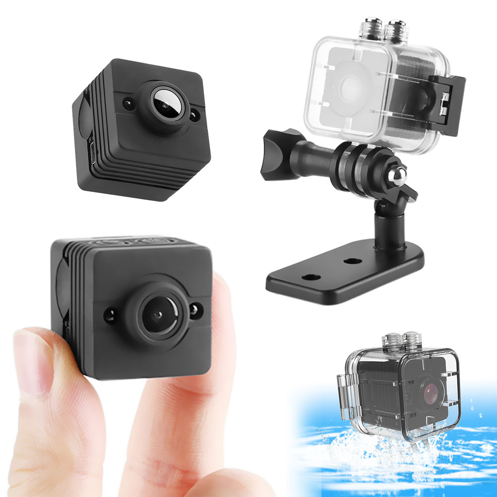 ET SQ9 & SQ12 Mini Camera HD Video Recorder Infrared Night Motion Detection Micro Camera Waterproof Digital Camera vs SQ11 SQ9