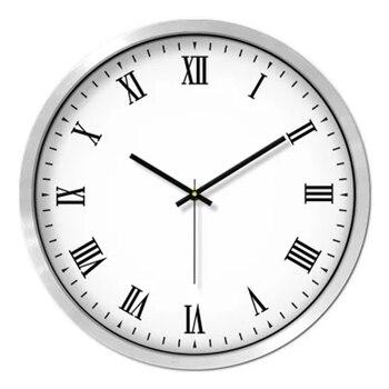 Rome Silent Wall Clock Modern Design Digital Large Electronic Clock Mechanism Zegar Scienny Big Clocks Industrial Decor 50ZB0006