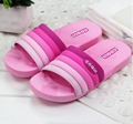 Unisex cool slippers men and women summer slippers Lovers couple home indoor wood floor thick bathroom plastic slippers