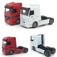 1:43 тяжелый грузовик сплав игрушка модель автомобиля для Mercedes benz длина 13 см