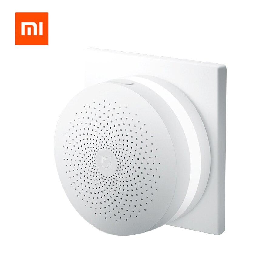 Original Xiaomi Smart Home Gateway Multi functional Upgraded Smart Temperature and Humidity Sensor WiFi Remote Control by Mi APP