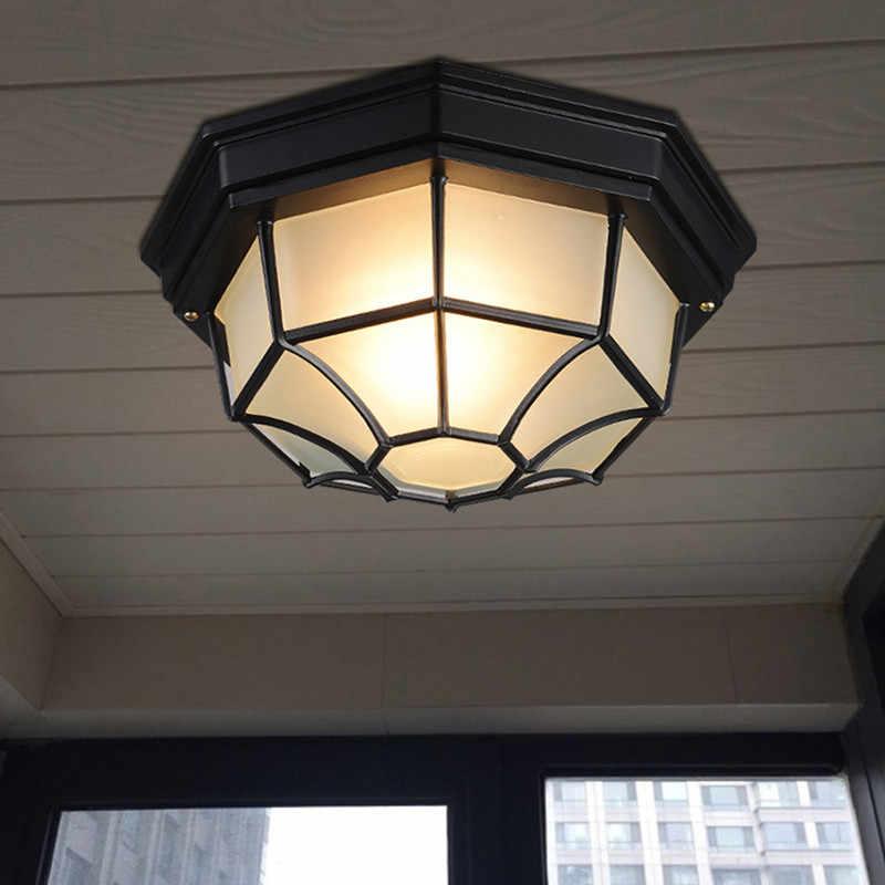 lampy sufitowe montowane w sufit