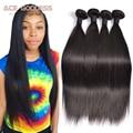 Peruvian Virgin Hair Straight 4 Bundles Peruvian Straight Hair 7A Unprocessed Peruvian Straight Virgin Hair Human Hair Weave