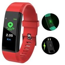 2019 LIGE New Smart Bracelet Men Women Heart Rate Blood Pressure Health Monitor Sport Wristband fitness tracker Watch+Box