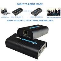 Mirabox Ретранслятор HDMI удлинитель может продлить 120 м (393ft) по Rj45 Cat5/cat5e/cat6 поддержка 1080 P может работать как HDMI Splitter