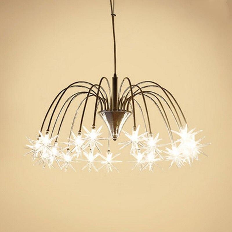 Z moderno de cristal colgante de luz LED lámparas colgantes dormitorio vestíbulo de vidrio colgante lámparas para niños de vidrio accesorio de iluminación - 2