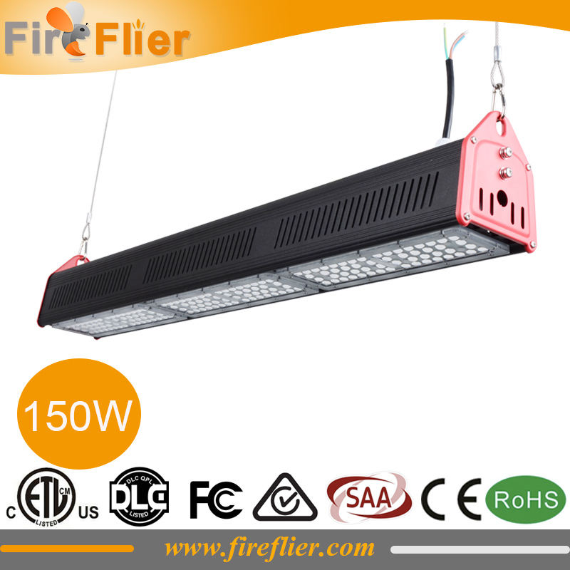 4pcs/lot 150W 200W Industrial Linear Light Led 50W 100W 120W Led Pendant Lamp 0.3m 0.6m 1.2m 1.5m Food Factory Warehouse Stadium