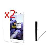 3in1 2x LCD Clear Screen Protector Films Protective Film Guards +1x Stylus Touch Pen For LG G Pad GPad X 8.3 vk815 8.3
