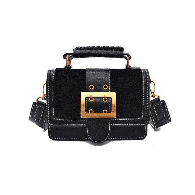 90c52321b52 US $17.52 46% OFF|Women Luxury Handbags Women Bags Designer Leather  Handbags and Purse Crossbody Vintage Leopard Small Women Messenger Bags  Purse-in ...