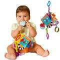 Carrinho de Berço Cama Pendurado Sino Do Anel Chocalhos de Brinquedo de pelúcia Brinquedo Macio brinquedos de Pelúcia Do Bebê Chocalho Cedo Educacional Boneca juguetes educativos