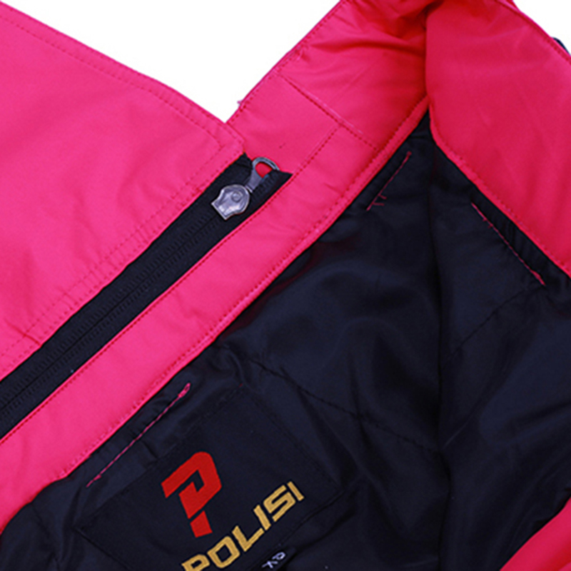 Nouveau professionnel thermique chaud Ski bavoir pantalon imperméable coupe-vent en plein air Sport Snowboard pantalon femmes Ski neige pantalon - 5