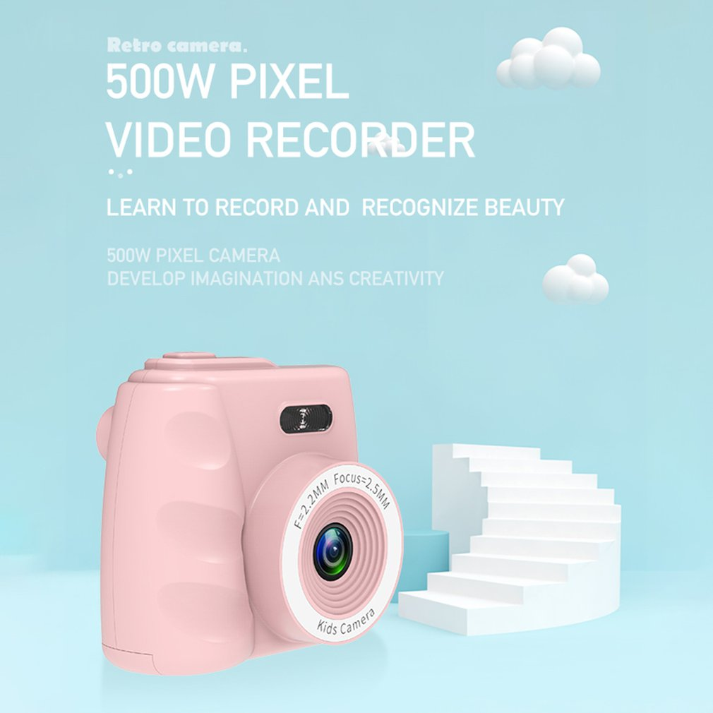 Cute Mini Digital Camera Dreamer Child Camera fotografica 1080P Children Toys Video Recorder Camcorder Kamera kids Camera