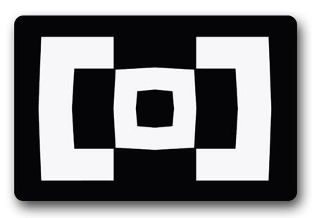 Charmhome Berghain Bantal Berghain Logo Kustom Keset Carpet Hitam