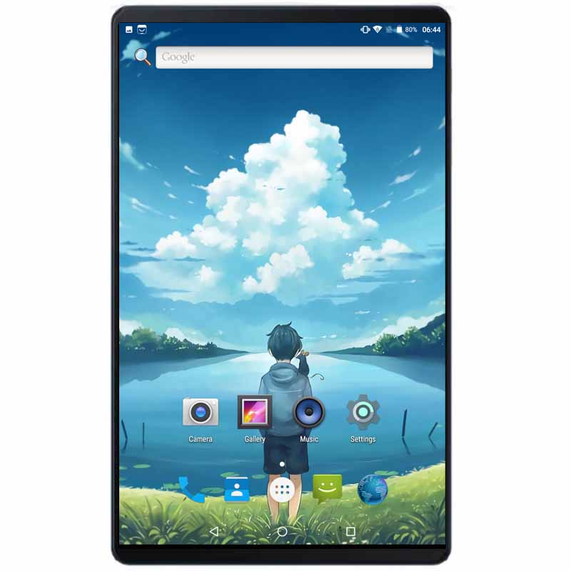 Super Tempered 2.5D Glass 10 Inch Tablet Android 8.0 Octa Core 4GB RAM 64GB ROM 8 Cores 1280*800 IPS Screen Tablets 10.1 + Gift