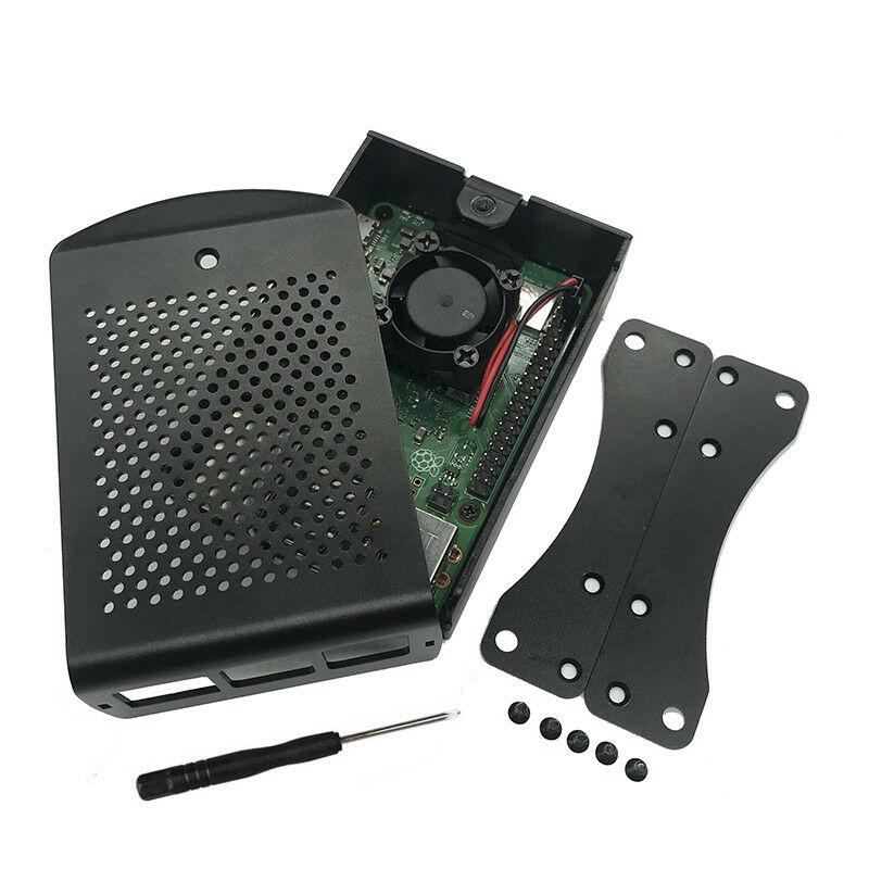 Raspberry Pi 3 B + (B Plus) Kit de démarrage Quad Core 1.4 Ghz 64 bits processeur + boîtier en alliage d'aluminium