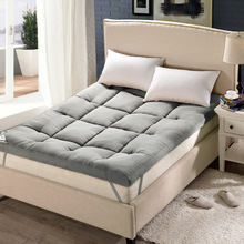 Student Anti Skid Pad Thick Warm Foldable Single Or Double Mattress Fashion New Topper Quilted