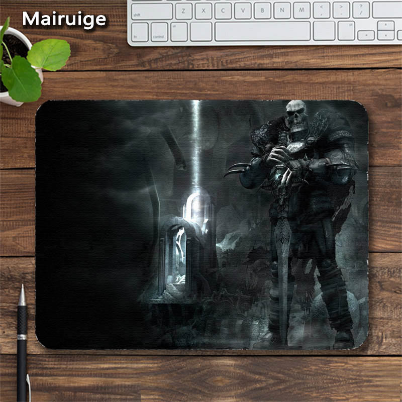 Mairuige Dark Souls Mice Mousepad Head Ghost Notbook Computer Mousepad Diy Mousepad Laptops Gaming Mat PadMouse Rubber Table Mat