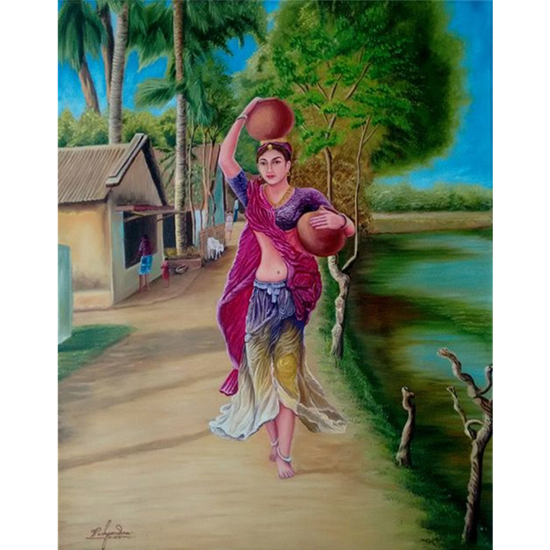 Землячка 3D DIY полный квадратный алмазная живопись картина женщины Незаконченный Diamond вышивать украшения дома картины
