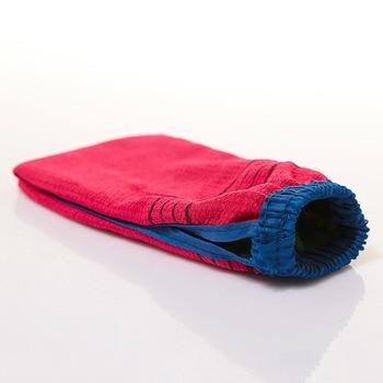 1PC Two-sided Bath Rubing Glove Shower Spa Exfoliator Scrub Body Treament Cleaning Mitt Dead Skin Removal Random Colors 1