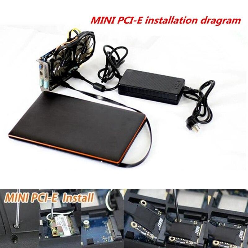 Mini PCI-E Carte Vidéo Indépendante Dock EXP GDC Fit Bête Ordinateur Portable Externe Externe Indépendant Vidéo Dock Carte Express Card