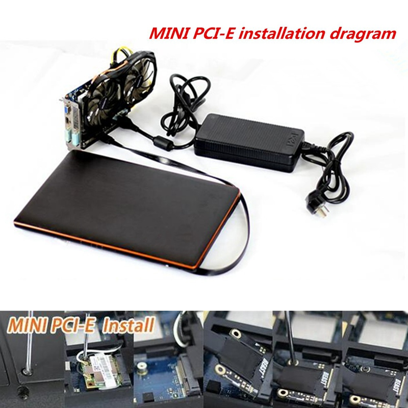 Mini PCI-E Independent Video Card Dock EXP GDC Fit Beast Laptop External External Independent Video Card Dock Express Card цена