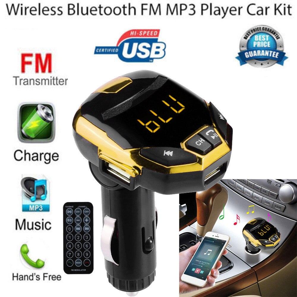 Wireless Bluetooth Autos G7 Handfree USB Charger FM Modulator Radio Music Player