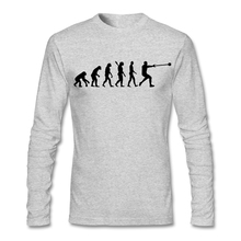 Long Sleeve Thanksgiving Day Custom Evolution Hammer throw T-shirt Men Boy Geek Large Size His And Hers Undershirt Shirts