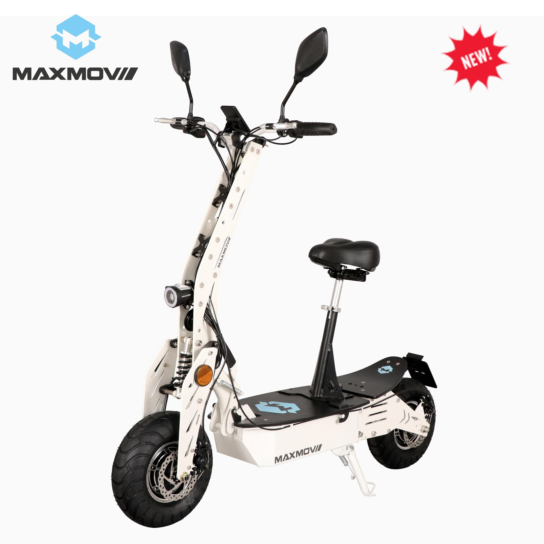 Scooter adulte pliable de double moteur de Hub du brevet 2000 W 60 V avec la batterie au Lithium 20Ah pour l'europe