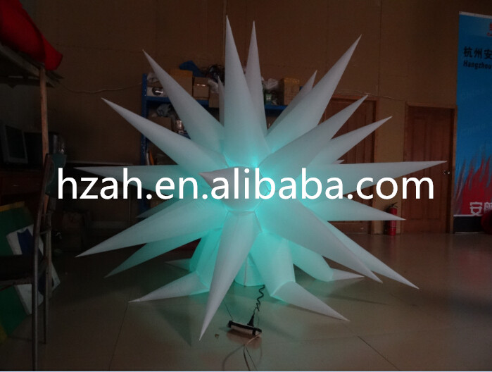 Party Decoration Inflatable Light Star UK romatic inflatable light ivory for event and party decoration