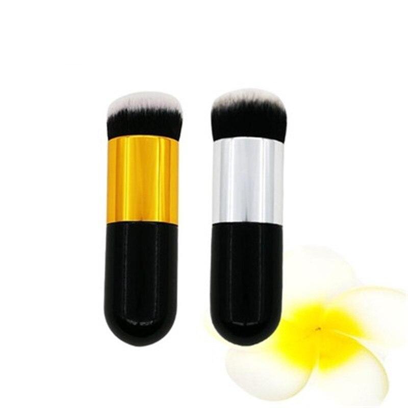 2 цветов Портативный Макияж Кисти Фонд румяна контур Небольшой Причал для лица макияж кисти для макияжа кисти J24