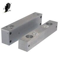 Frameless Glass Door Electronic Bolt Lock Bracket EM Lock Holding Force Door Eletric Magnetic Lock CR 3316