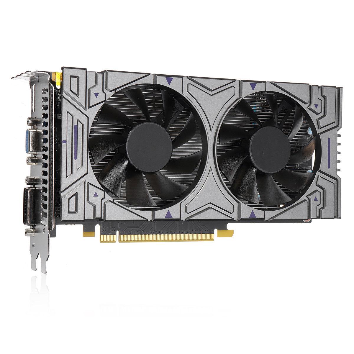 BLEL Горячие GTX 1050 2 ГБ GDDR5 128Bit VGA, DVI, HDMI Графика-карты для NVIDIA GeForce ...