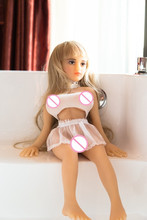 Sex ANNA 68cm full size sex doll  love doll with 100% silicone and skeleton as big breast  and vagina sex toy for men