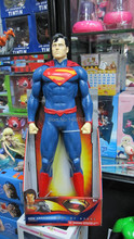 "Nova Chegada DC Comic Clássico Filme de Animação Superman Man of Steel Superhero Krypton Clark Kent Enorme 20 ""Figura Toys(China)"