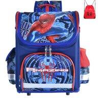 Yeni yüksek kaliteli Okul Çantaları Çocuklar Sırt Çantası Örümcek Adam Çocuk Okul Çantaları Sırt Çantası Çocuklar Sırt Çantası satchel Mochila boys için