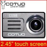 Comparar COTUO CS98 acción Cámara 2,45 Touch Pantalla remota 4K 24fps Ultra HD 30M impermeable Notavek 96660 wifi deporte ir mini SJ DV 6 pro