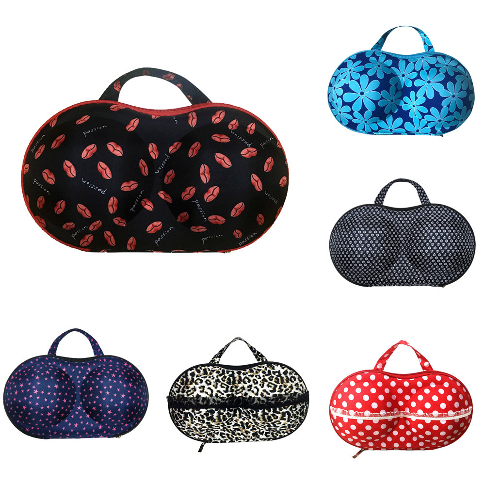 Storage-Box Case Underwear Lingerie Travel-Bag Bra Protect 6-Types Portable Creative/S