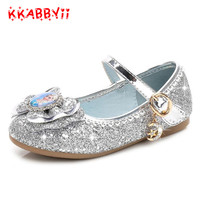 Children Shoes Girls Sandals New Spring Summer Fashion Princess Elsa Shoes Cute Baby Girls Dance Shoes