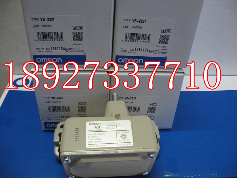 [ZOB] Supply of new imported omron Omron limit switch VB-2221 factory outlets [zob] 100% new original omron omron proximity switch e2e x10d1 n 2m