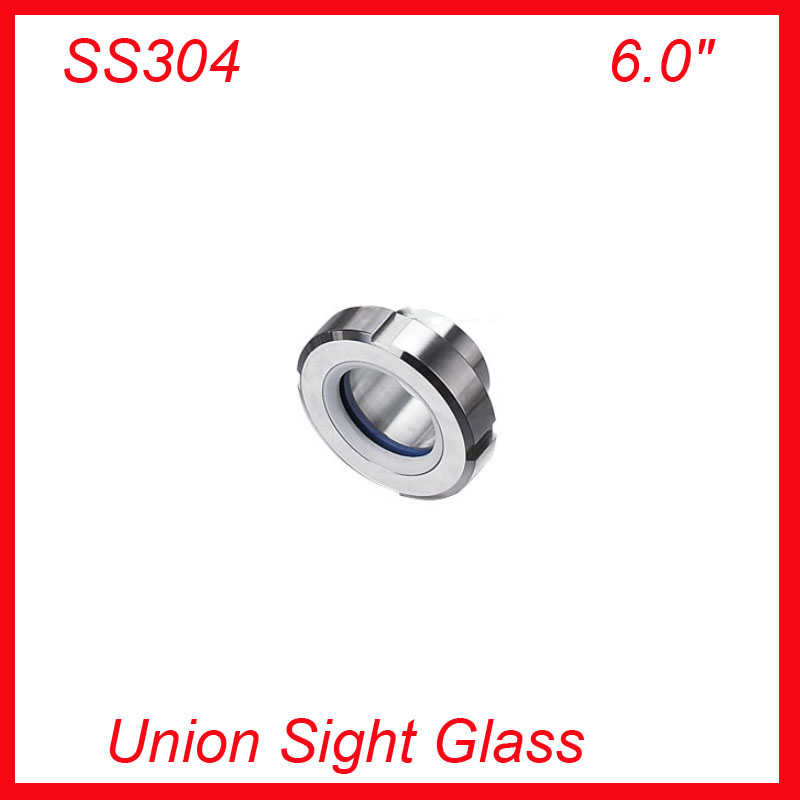 New Hot Sale  6.0 SS304 Sight Glass/ Sanitary Union Type for The Tank / View Glass hot sale prdl18 7dn lengthen type