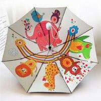 Fully automatic black rubber sunscreen, sunshine and rain umbrella