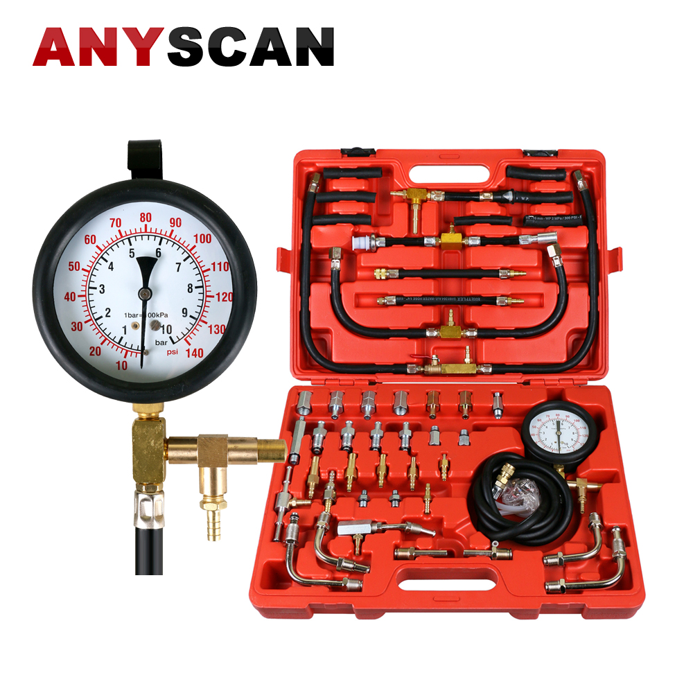 Best Quality TU-443 Manometer Fuel Pressure Gauge Engine Testing Kit Engine Fuel Injection Pump Tester Kit