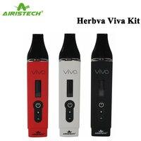 Original Airistech Herbva Viva Kit seca vaporizador de cera Herbal 2200mAh batería de la batería Vape de pluma pantalla OLED cigarrillo electrónico